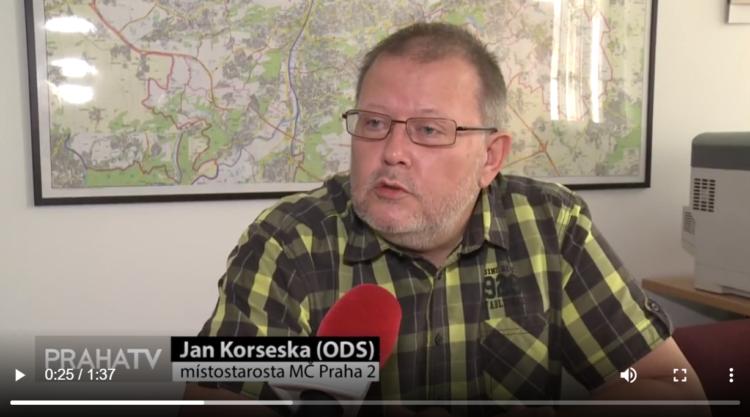 Jan Korseska v Praha TV